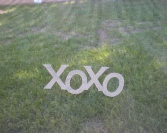 XOXO Window or Mirror Cling