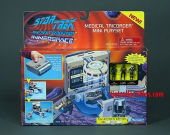 Star Trek TNG Innerspace Series Medical Tricorder Mini Playset New 1995