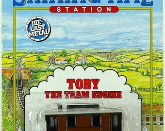 Thomas the Tank Engine Shining Time Station Toby the Tram die-cast ERTL 1992