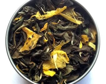 Ginger Georgia Peach Loose Leaf Tea & Hand-Filled Tea Bags