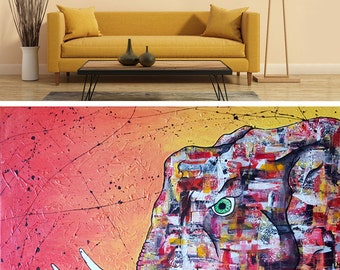 Canvas Elephant - COLLECTION Savannah (Elephant)