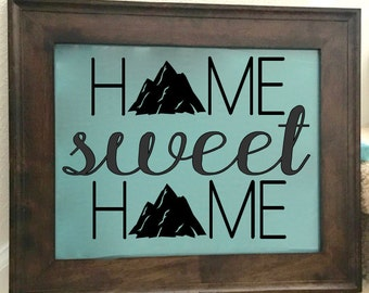 """Fill In The O """"Home Sweet Home"""""""