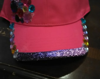 Custom jeweled hats