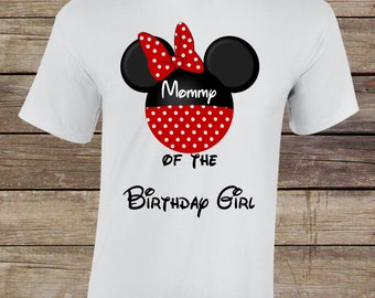 Mommy of the Birthday Girl-Birthday Tshirt Transfer