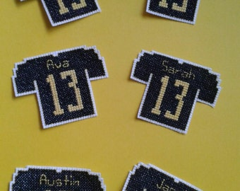 Jersey Personalized Ornaments