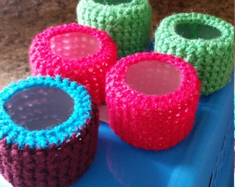 Tiny Crochet Baskets