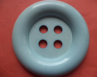 big blue button 50mm (145) Blue Coat buttons