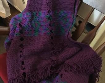 Handmade Cross stitch Blanket
