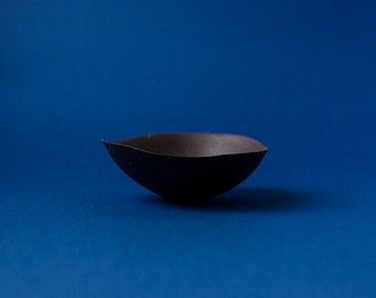 Black Ceramic bowl MALA ARTA - LRG
