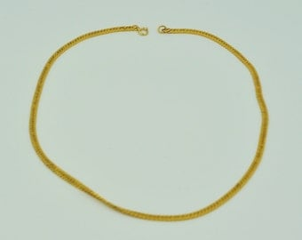 14K Gold Chain Necklace 16''