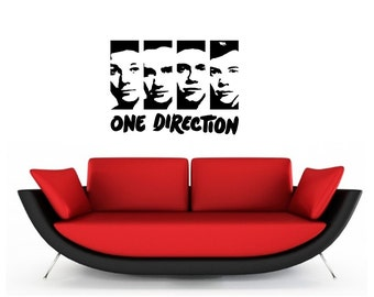 One Direction Vinyl Wall Art Sticker Decal Graphics Decor Home Part 57