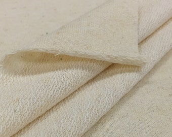 Hemp/Organic Cotton French Terry Fabric