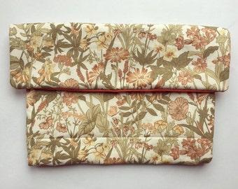 Floral Boho Clutch