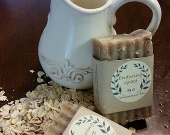 Oatmeal Handmade Artisan Soap
