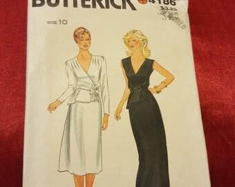 1980S Butterick # 4186 size 10 Uncut