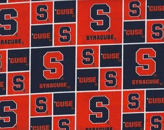 S.U. Syracuse  Fabric