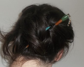 Pic à chignon décor bijou Hairstick with strass