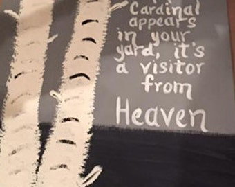 Visit From Heaven Canvas