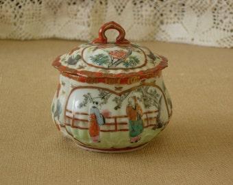 Bone China Sugar Bowl Oriental