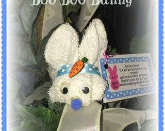 Retro Boo Boo Bunny.... comes with 1 free reusable plastic ice cube