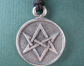 Thelema Unicursal Hexagram Amulet