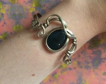 Cool vintage metal bracelet
