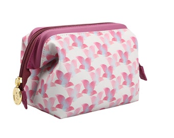 TaylorHe Cosmetic Case Zipped Frame Pink Floral