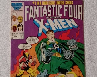 Fantastic Four vs. X-Men #1 (1986)