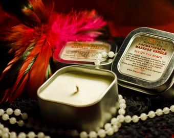 Honeymoon (c) Aromatherapy Massage Oil Candle