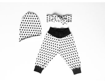 Cross Baby/Toddler Modern/Urban Cuff Cotton Pant.
