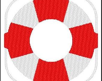 Fill Embroidery Design, Lifesaver, Sailing, Nautical, File, Digital, Download, Machine