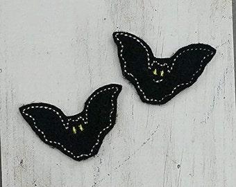 Bat Feltie Embroidery Design