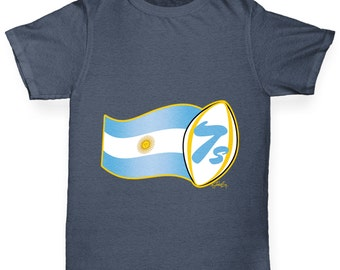 Boy's Rugby 7S Argentina T-Shirt