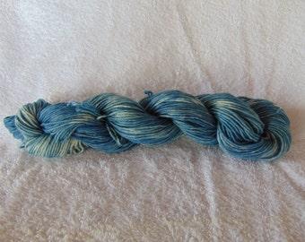 Sport Weight Indigo Dyed Cotton Yarn