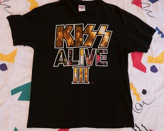 Vintage KISS Army 1993 'ALIVE' III Tour T Shirt