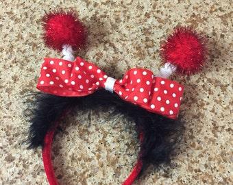Lady bug costume headband