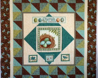 Cherish Nature-Unfinished Quilt Top