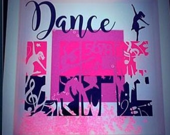 Dance Life Picture Frame / Dancing Frame