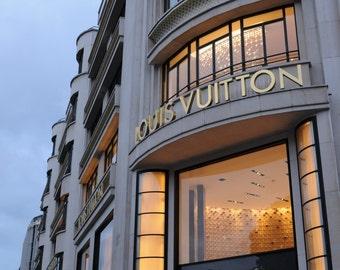 Louis Vuitton on Champ Elysees