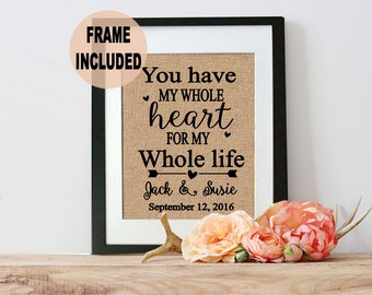 unique bridal shower gifts unique bridal shower gifts anniversary ideas framed burlap