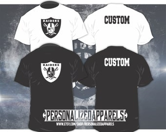 Oakland Raiders Custom Shirt PERSONALIZED
