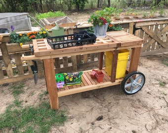 MOBILE POTTING TABLE