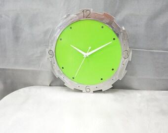 retro funky wall clock