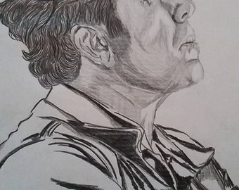 Tom Waits Drawing