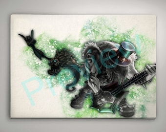 Yorick League of Legends Print