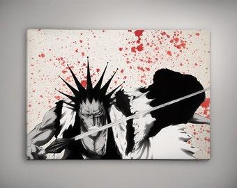 Zaraki Kenpachi Bleach Anime Poster