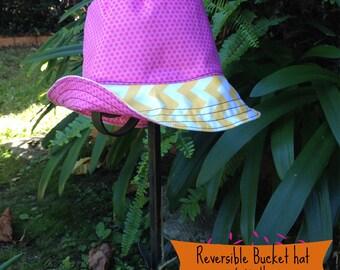 Reversible Baby Cotton Bucket Hat