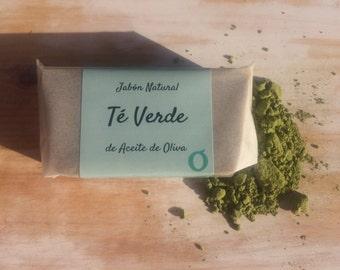 SOAP Natural tea Green