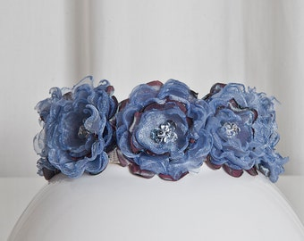 Dog Collar Angel's Couture Flower Power jeans look