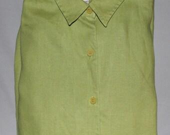 Jones of New York  Vintage 100% Linen  Green
